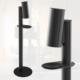 PureDico vulcan black - touchless Desinfektionssäule für Shop, Bar, Restaurant und Hotels